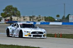 #60 TA2 Ford Mustang, Tim Gray of TRB Racing