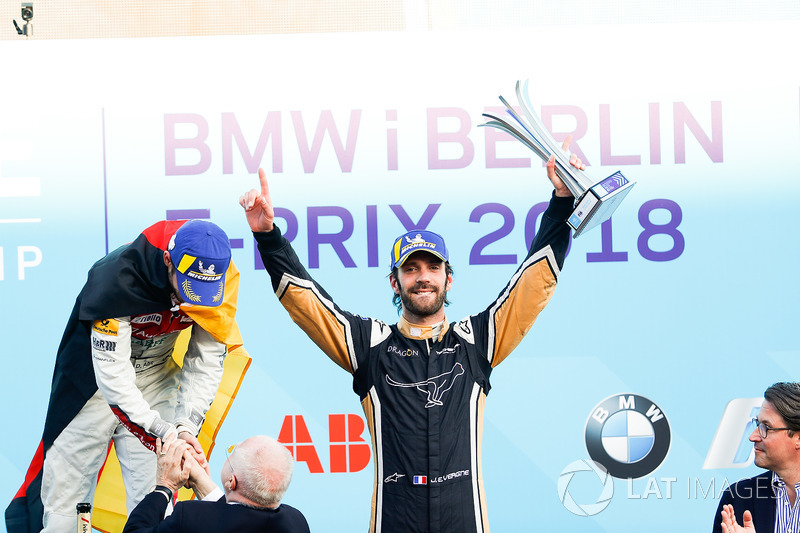 Jean-Eric Vergne, Techeetah, places 3rd