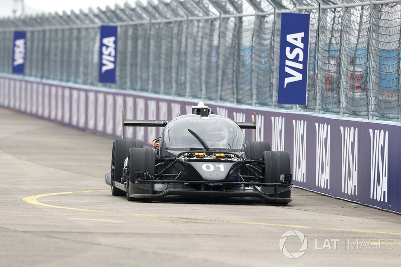Roborace Human Machine Time Attack Desafío