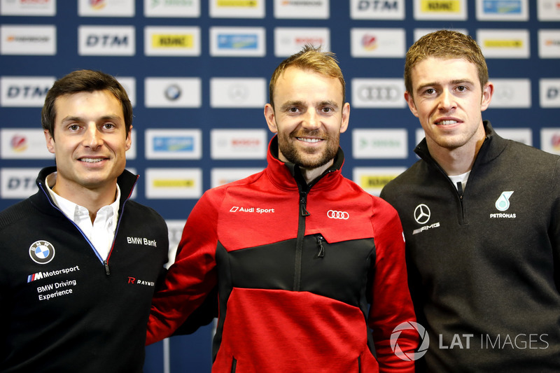 Press Conference, Bruno Spengler, BMW Team RBM, Jamie Green, Audi Sport Team Rosberg, Paul Di Resta, Mercedes-AMG Team HWA