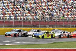 Kyle Busch, Joe Gibbs Racing, Toyota Camry NOS Energy Drink and Brandon Jones, Joe Gibbs Racing, Toyota Camry Toyota Menards Jeld-Wen/