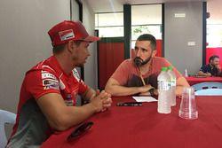 Casey Stoner, Ducati, exclusive interview with Oriol Puigdemont, Motorsport.com