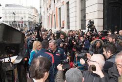 Carlos Sainz, Lucas Cruz, Peugeot Sport, Cristina Cifuentes, Presidente de la Comunidad de Madrid