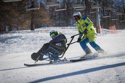 Lezione di sci