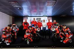 MIchael Ruben Rinaldi, Aruba Racing Ducati, Marco Melandri, Aruba Racing Ducati, Chaz Davies, Aruba Racing Ducati