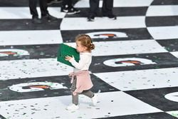#5 Action Express Racing Cadillac DPi, P: Filipe Albuquerque's daughter Carolina carries his Rolex