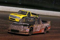Noah Gragson, Kyle Busch Motorsports, Toyota Tundra Safelite AutoGlass and Cody Coughlin, GMS Racing, Chevrolet Silverado Jeg's.com