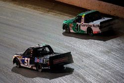 Ben Rhodes, ThorSport Racing, Ford F-150 Alpha Energy Solutions and Logan Seavey, Kyle Busch Motorsports, Toyota Tundra Mobil 1