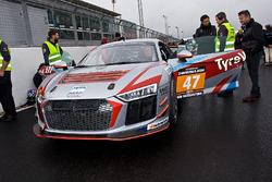 #47 Fox Motorsport Audi R8 LMS: Jamie Stanley, Glenn Sherwood, Ben Clucas