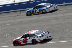 Brad Keselowski, Team Penske, Ford Fusion Wurth, Ryan Blaney, Team Penske, Ford Fusion PPG