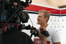 Marcus Ericsson, Sauber parla con i media