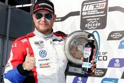 Podio: Rob Huff, Sébastien Loeb Racing Volkswagen Golf GTI TCR