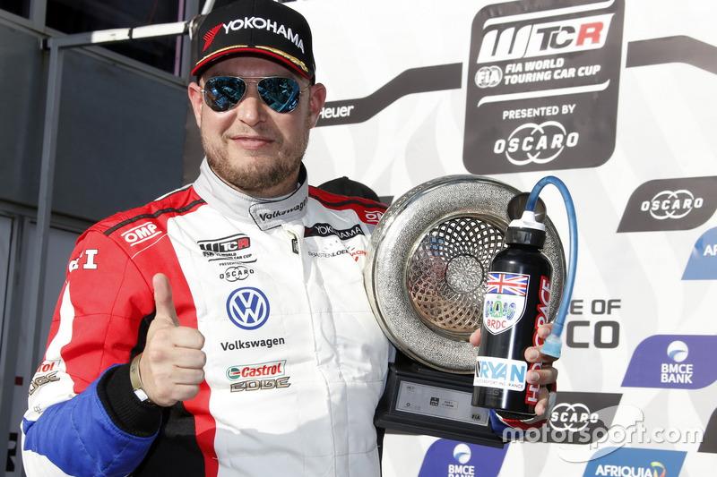 Podium: third place Rob Huff, Sébastien Loeb Racing Volkswagen Golf GTI TCR