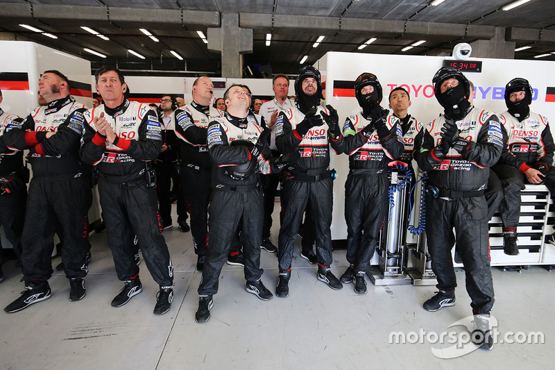Toyota Gazoo Racing team members