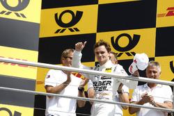 Podium: tweede plaats Lucas Auer, Mercedes-AMG Team HWA