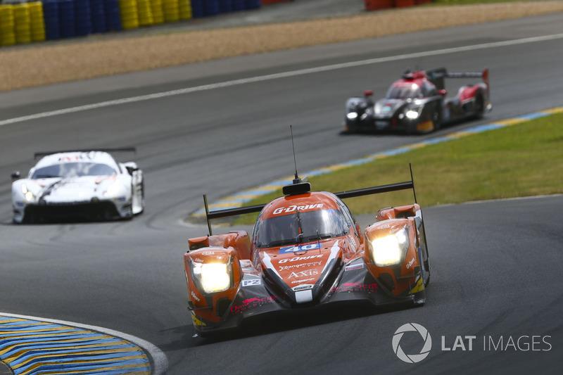 Джеймс Аллен, Хосе Гутьеррес, Энцо Джибберт, G-Drive Racing, Oreca 07 Gibson (№40)