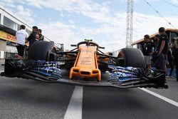 McLaren MCL33 nose