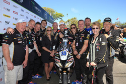Peter Hickman y el Trooper Triumph del Smiths Racing Team