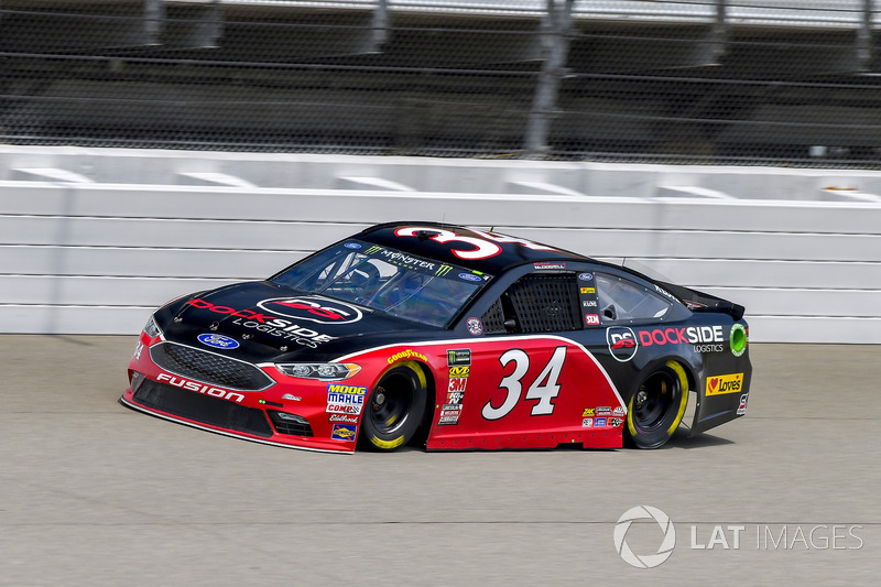 23. Michael McDowell, Front Row Motorsports, Ford Fusion Dock Side Logistics