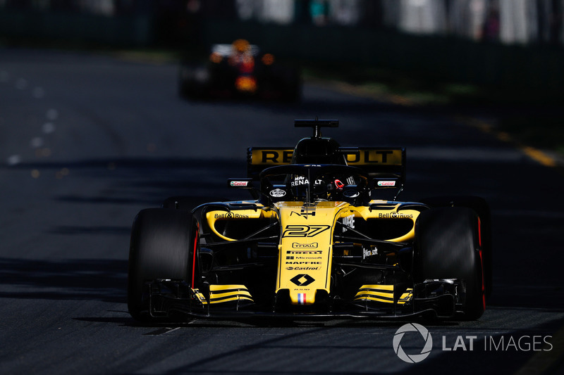 Нико Хюлькенберг, Renault Sport F1 Team RS18