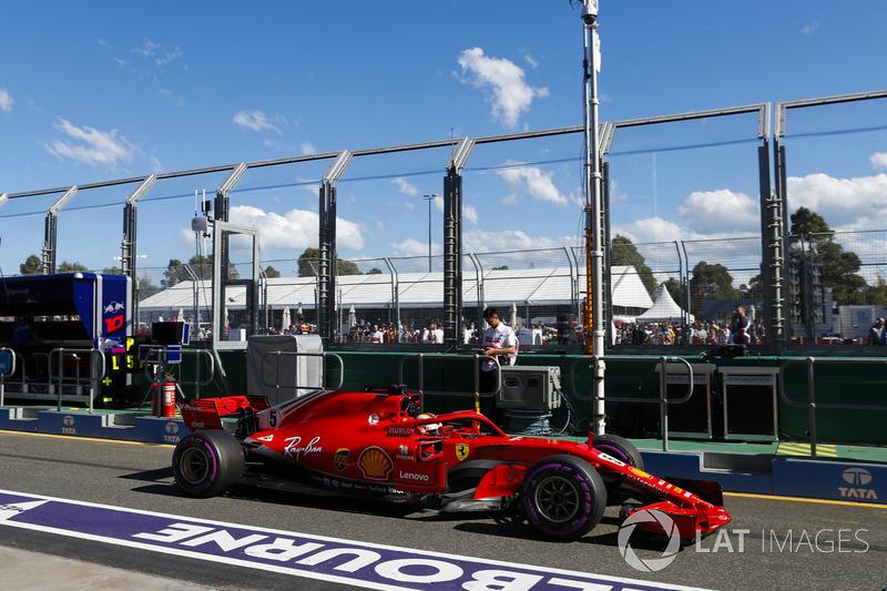 2018 (перша половина). Ferrari SF71H