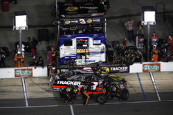 Ty Dillon, Richard Childress Racing Chevrolet, pit stop