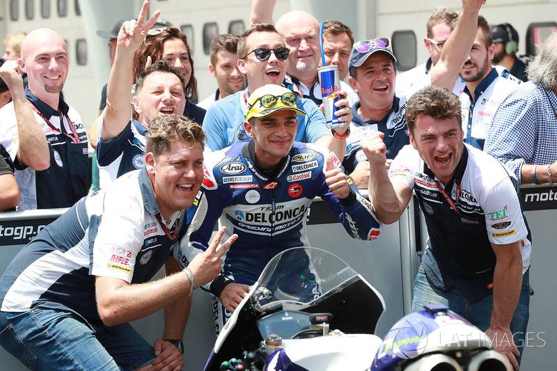 Segundo, Jorge Martin, Del Conca Gresini Racing Moto3