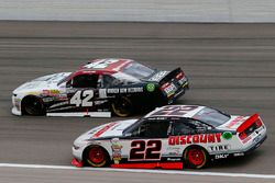 Ryan Blaney, Team Penske Ford and Tyler Reddick, Chip Ganassi Racing Chevrolet