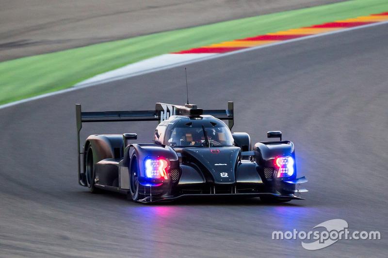 SMP Racing Dallara BR1 LMP1 testing