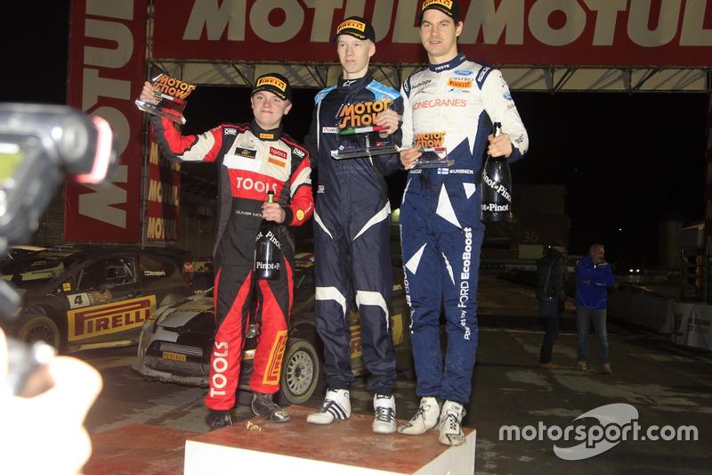 Memorial Bettega, Trofeo Pucci Grossi: il vincitore, Kalle Rovanpera, secondo Oliver Solberg, terzo