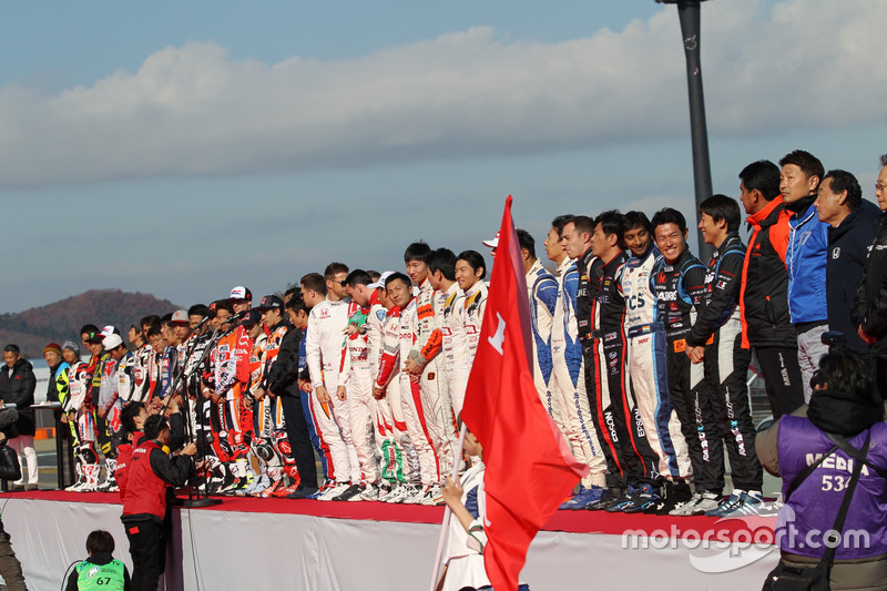 Участники Honda Racing Thanks Day
