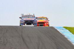 Jamie Whincup, Triple Eight Race Engineering Holden, Scott McLaughlin, DJR Team Penske Ford