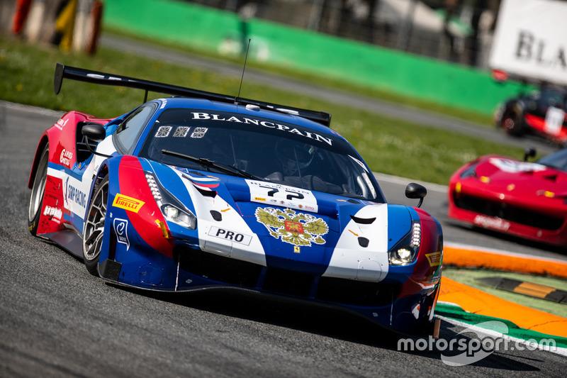 #72 SMP Racing Ferrari 488 GT3: Mikhail Aleshin, Davide Rigon, Miguel Molina