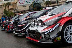 La photo de groupe des WRC 2018