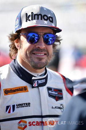 #23 United Autosports Ligier LMP2, P: Fernando Alonso
