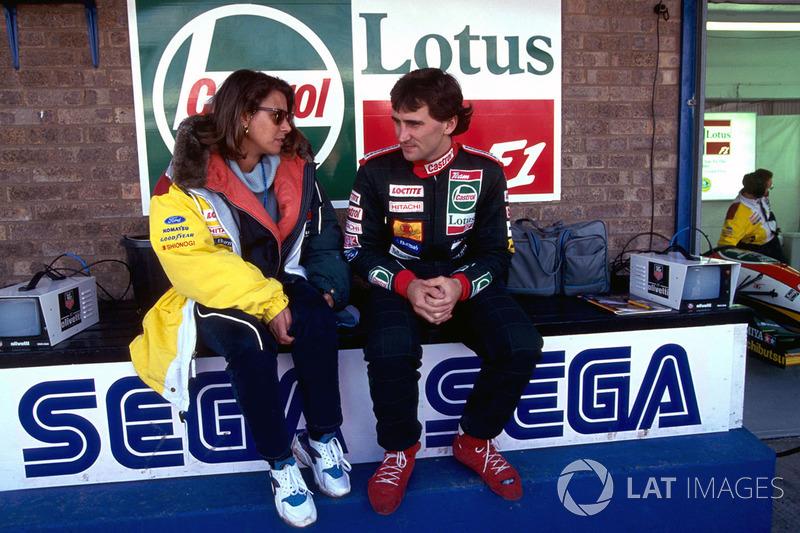 Alex Zanardi, Lotus