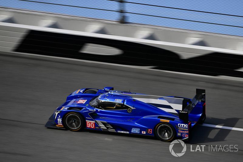 Ausfall: #90 Spirit of Daytona Racing, Cadillac DPi