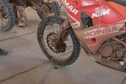 Dettaglio della KTM #25 di Ivan Cervantes
