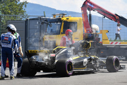 Nico Hulkenberg, Renault Sport F1 Team R.S. 18 retires from the race