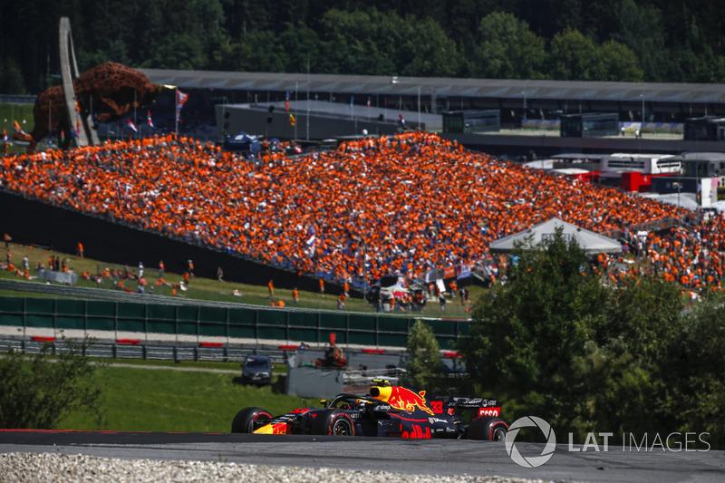 9. GP van Oostenrijk: overwinning