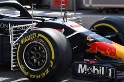 Red Bull Racing RB14 and aero sensor