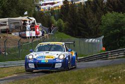 Робин Хрцановски, Керстен Йоденикс, Петер Шармах, www.clickversicherung.de Team, Porsche 991 GT 3 Cup MR (№96)