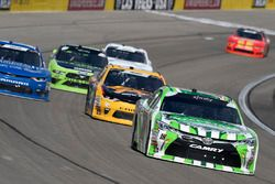 Kyle Busch, Joe Gibbs Racing, Toyota Camry Interstate Batteries, Daniel Hemric, Richard Childress Ra