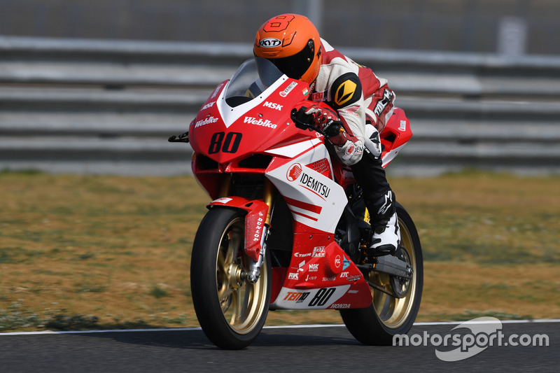 Anish Shetty and Rajiv Sethu (Asia Road Racing Championship, Japan)