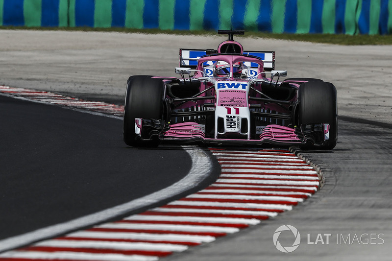 19. Sergio Perez, Force India VJM11