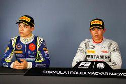 Lando Norris, Carlin, And Nyck De Vries, PREMA Racing