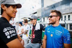 Drivers parade, Luca Ghiotto, Campos Racing, Sean Gelael, PREMA Racing