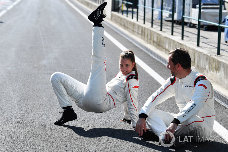 F1 Experiences 2-Seater passenger Barbara Palvin