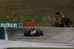 Kevin Magnussen, Haas F1 Team VF-18 gaat breed