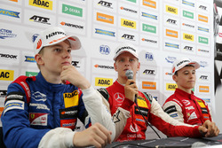 Press conference, Robert Shwartzman, PREMA Theodore Racing Dallara F317 - Mercedes-Benz, Mick Schumacher, PREMA Theodore Racing Dallara F317 - Mercedes-Benz, Marcus Armstrong, PREMA Theodore Racing Dallara F317 - Mercedes-Benz